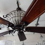 crystal-chandelier-five-blade-ceiling-fan