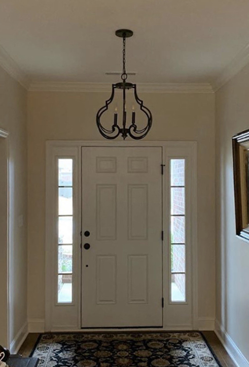 four-candle-light-pewter-foyer-fixture