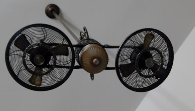 indoor-hanging-dual-three-bladed-fan-fixture