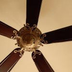 metal-scroll-wood-five-blade-ceiling-fan