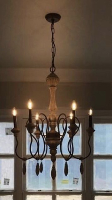 six-candle-light-metal-chandelier