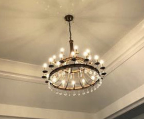 tiered-metal-crystal-chandelier