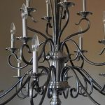 tiered-pewter-candle-style-chandelier